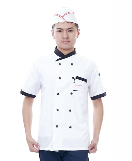 夏季厨师服
